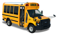 Brightbill sells new and used Blue Bird school buses, Blue